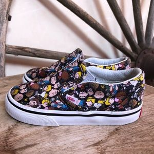 VANS Peanuts Snoopy Slip-On Skate Shoes Toddler 8